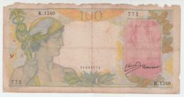 French Indochina 100 Piastres 1947 Pick 82 - Indochina