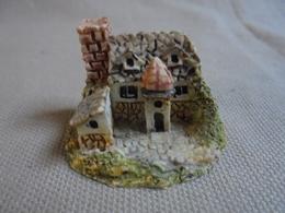 Ancien Château Castel Miniature - Miniatures Décoratives