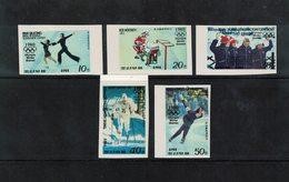 KOREA Nord , North Korea , 1979 , ** , MNH , Postfrisch , Mi.Nr. 1941 - 1945 B - Corea Del Nord