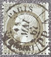 Napoléon III N° 19 X2 Avec Oblitération Cachet à Date Centrale  TTB - 1862 Napoleon III