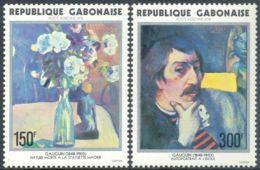 Gabon, 1978, Art, Paintings, Paul Gauguin - Gabon (1960-...)