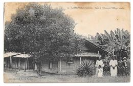 LIBREVILLE (Gabon) - Case à L'Oranger Village Louis - Collection S.H.O.- G.P. Phot. N° 9 - Voir état - Gabon