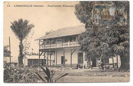 LIBREVILLE (Gabon) - Factorerie Thomas - Collection S.H.O.- G.P. Phot. N° 17 - Voir état - Gabon