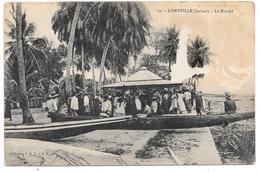 LIBREVILLE (Gabon) - Le Marché - Collection S.H.O.- G.P. Phot. N° 19 - Voir état - Gabon