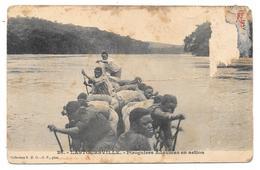 LASTOURSVILLE - Piroguiers Adoumas En Action - Collection S.H.O.- G.P. Phot. N° 26 - Mauvais état - Gabon