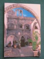 """Greece 1996 Postcard """" Church Bell """" Kos To England - High Jump (1997 ? ScOtt # 1877) Cancel In 1996 - Greece"""