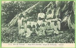 São Tomé E Príncipe - Roça Nova Estrela - Grupo De Moleques - Ethnique - Ethnic - Portugal - Sao Tome And Principe
