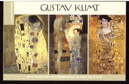 Austria, 2018. Painting, Gustav Klimt (booklet) - Art