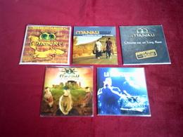 MANAU   °°   COLLECTION DE 5  CD SINGLE 2 TITRES - Music & Instruments