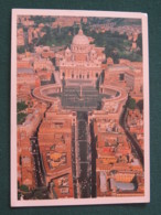 "Vatican 1994 Postcard "" St. Peter Basilica "" To England - Christian Archaeology Congress - Vatican"