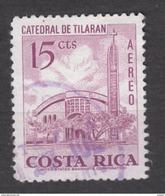 Costa Rica, Horloge, Horlogerie, Clock, église, Church, Cathédrale, Airmail - Uhrmacherei