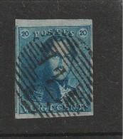 COB N°2 - 4 Marges + Voisin - P4 Anvers - 1849 Epaulettes