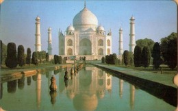 INDIA - GPT Card, Taj Mahal (no Face Value), Test, Sample Card, Monuments, Loaded?, 1987, Mint - Indien