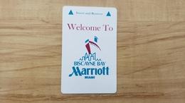 USA - MARRIOTT - MIAMI -  HOTEL ROOM KEY - Cartes D'hotel
