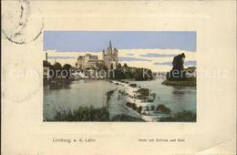 41542935 Limburg_Lahn Wehr Mit Schloss Und Dom Limburg_Lahn - Limburg