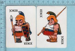2 Cartes,Joker, Joker Centurions - Playing Cards (classic)