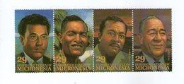 MICRONESIE 1993 CELEBRITES YVERT N°234/37 NEUF MNH** - Micronésie
