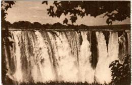 51zh 74 CPA - ZIMBAMBWE - VICTORIA FALLS - PART OF MAIN FALL - Zimbabwe