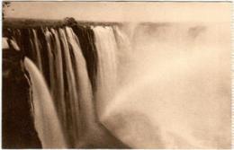 51zh 77 CPA - ZIMBAMBWE - VICTORIA FALLS - THE RAINBOW FALL FROM LIVINGSTONE ISLAND - Zimbabwe