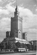 WARSZAWA VARSOVIE - Palac Kultury I Nauki - Pologne