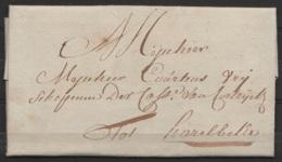 L. Datée 27 Juin 1790 De VICHTE Pour HARELBEKE - 1789-1790 (Révol. Brabançonne)