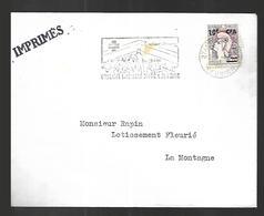 Réunion   Lettre    19 08  1966 Vers  La Montagne  ( 12000 Hts) - Reunion Island (1852-1975)