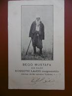 BEGO MUSTAFA ADA KALEH KOSSUTH LAJOS TURC Fumeur De Narguilé Héros National Hongrois - Ungarn