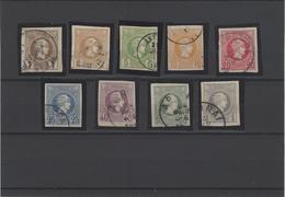 Grecia ,serie Completa Usata ,eccezionale - 1886-1901 Piccolo Hermes