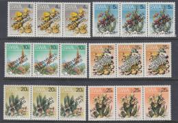 D101225 South West Africa 1978 Namibia CACTII = UNIVERSAL SUFFRAGE Opt MNH Set  - SWA Namibia Namibie - Namibië (1990- ...)