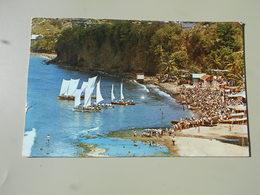 MARTINIQUE FONDS LAHAYE LA FETE AU VILLAGE COURSES DE YOLES A VOILES - Martinique