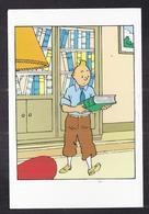 CPSM TINTIN ET MILOU - HERGE - Hergé - Le Sceptre D'Ottokar - TB ILLUSTRATION - Stripverhalen