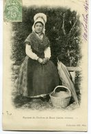 CPA - Carte Postale - Folklore - Paysanne Des Environs De Rouen - 1902 (M8146) - Costumes