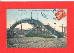 75 PARIS XIX Cpa Pont De La Rue De Crimée à La Vilette     47 P P C - Arrondissement: 19