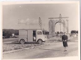 """PHOTO--ESPAGNE-CITROËN  HY---"""" TUBE """" El Arco De Bera """"-près De El Mas Roig--Carretera N°340--voir 2 Scans - Automobili"""