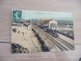 CPA 30 Gard Aramon La Gare  TBE - Aramon