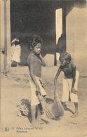 Mission Des Indes Orientales - Filles Balayant Le Sol (Keerters) - Carte Nels N° 11 Non Circulée - Missions