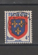 FRANCE /1949 / Y&T Préo N° 105 ** : Armoiries De L'Anjou Surchargé - Gomme D'origine Intacte - Préoblitérés