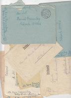 10 Feldpostbriefe Ein Paar Mit Inhalt Fp-Nr.10956 Mar.Art.Abt.512 Aus 1944 Nach Tromsö / Norwegen - Briefe U. Dokumente