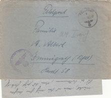 Feldpost Vom KG 100 FP-Nr.07199 12.1.43 Kampf Um Stalingrad + Versorgung / Mit Inhalt - Briefe U. Dokumente