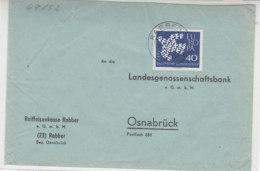 Bank-Brief Aus RABBER 5.7.62 - Briefe U. Dokumente