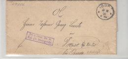 Brief Mit K1 Aus IBURG 10.11.00 Nach Oesede - Germany