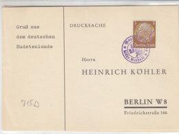 Köhlerkarten - Mährisch Neustadt / Mährisch Karlsdorf - Bohemia & Moravia