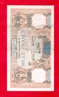 BILLET De 1000  F - 1938 - ...-1889 Anciens Francs Circulés Au XIXème