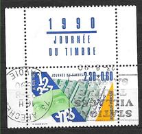 FRANCE 2640 Journée Du Timbre Métier De La Poste . Issu De Carnet - Oblitérés