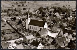 B5035 - Mingolsheim - Bad Schönborn - Luftbild Fliegeraufnahme - Bad Schoenborn