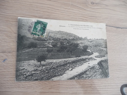 CPA 07 Ardèche Alissas Inondations Du 08/10/1907 Le Ruisseau De Veronne...  TBE - France