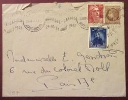 V97 Affranchissement Franco-Belge «Championnat France Bouliste Cannes Août 1947» 23/8/1947 - 1921-1960: Modern Period