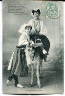CPA - Carte Postale - Folklore - Hommage Aux Sablaises - 1905 (M8152) - Personnages