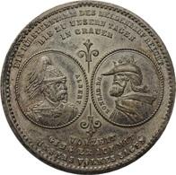 ALEMANIA. SAJONIA. MEDALLA 800 ANIVERSARIO DE LA CASA WETTIN. 1.889 - Monarquía/ Nobleza