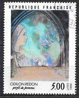 FRANCE 2635 Odilon Redon Profil De Femme . - Oblitérés